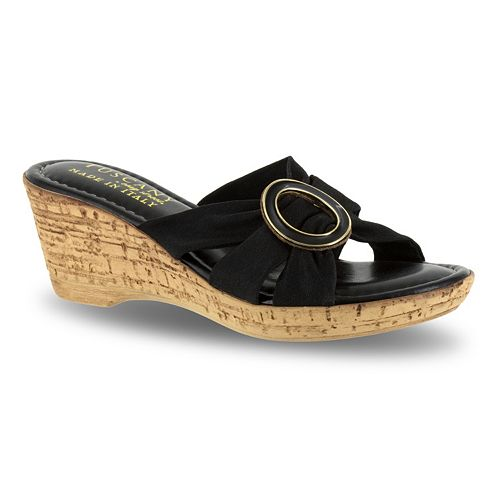 Tuscany by Easy Street Conca Women's Wedge Sandals
