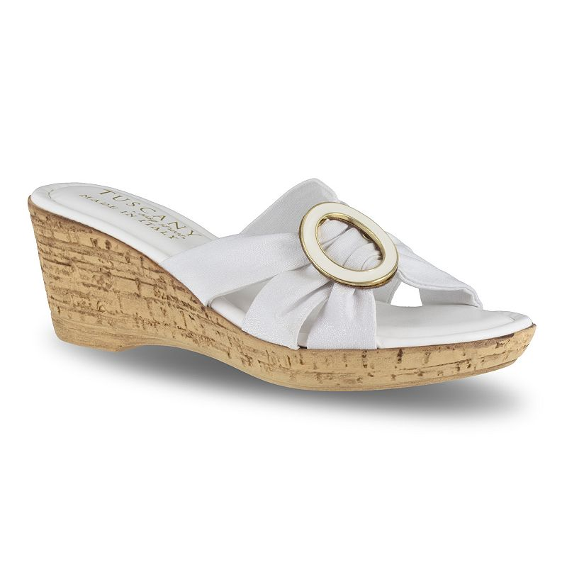 77554ddf9e Tuscany by Easy Street Conca Women's Wedge Sandals, Size: medium (12 ...
