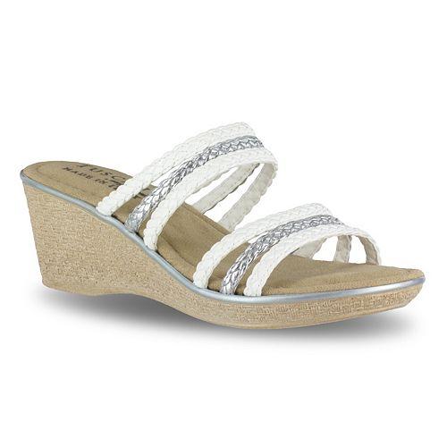 Tuscany by Easy Street Pilato Women's Wedge Sandals