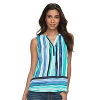 Petite Apt. 9® Sleeveless Popover Top