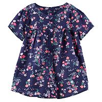 Girls 4-8 OshKosh B'gosh® Floral Shirred Shirt