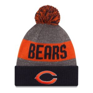 Adult New Era Chicago Bears Official Tech Knit Beanie