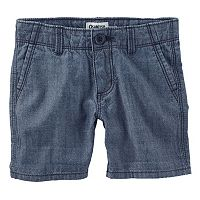 Girls 4-8 OshKosh B'gosh® Denim Chambray Shorts
