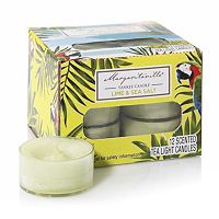 Margaritaville® Collection by Yankee Candle Lime & Sea Salt Tealight 12-piece Set
