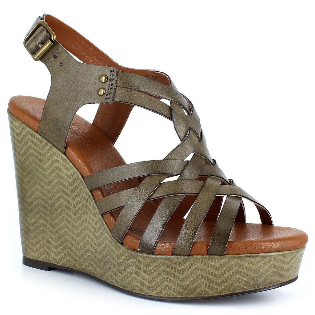 Dolce by Mojo Moxy Safara Women's Wedge Sandals