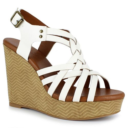 50b2352145 Dolce by Mojo Moxy Safara Women's Wedge Sandals