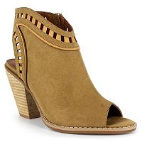 Dolce by Mojo Moxy Maddie Women's Peep Toe Booties