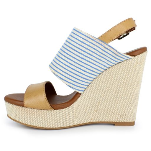 Dolce by Mojo Moxy Sailor Women's Wedge Sandals