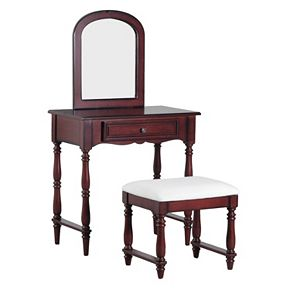 Chadwick Vanity & Stool 2-piece Set