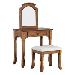 Oakdale Vanity & Stool 2-piece Set