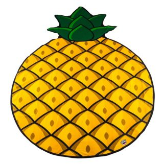 Big Mouth Inc. 60-inch Giant Pineapple Microfiber Beach Blanket