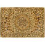 Safavieh Heritage Portsmouth Framed Floral Wool Rug
