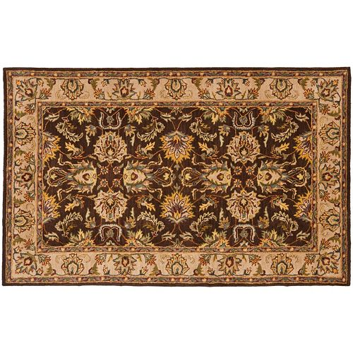 Safavieh Heritage Bochum Framed Floral Wool Rug