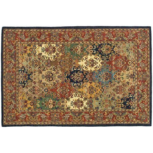 Safavieh Heritage Rostock Framed Floral Wool Rug