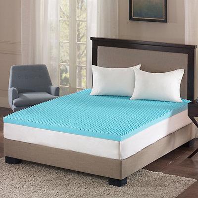 Flexapedic by Sleep Philosophy 3-inch Gel Memory Foam Topper