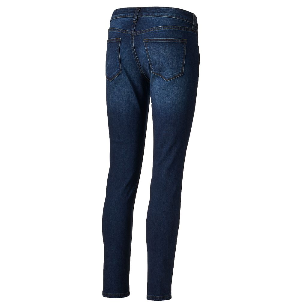 Women's SONOMA Goods for Life™ Whiskered Skinny Jeans