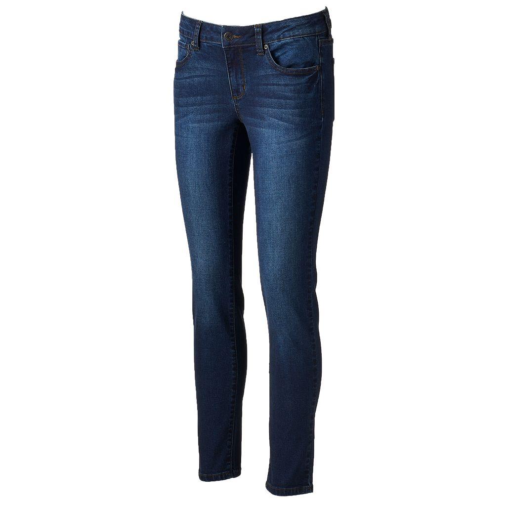 Women's SONOMA Goods for Life™ Whiskered Skinny Jeans