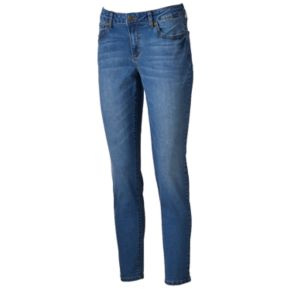 Women's SONOMA Goods for Life? Whiskered Skinny Jeans