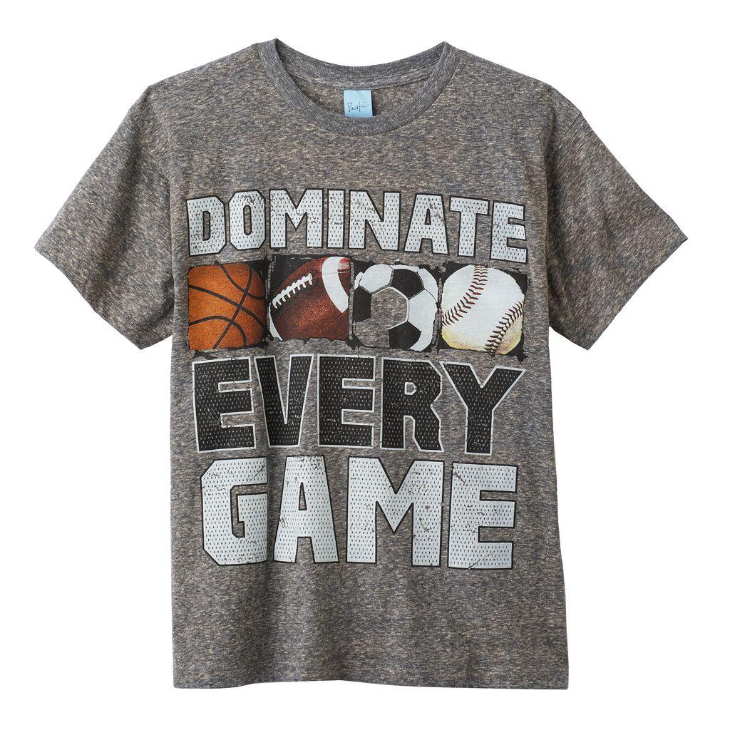 Boys 8-20 Dominate Every Game Tee