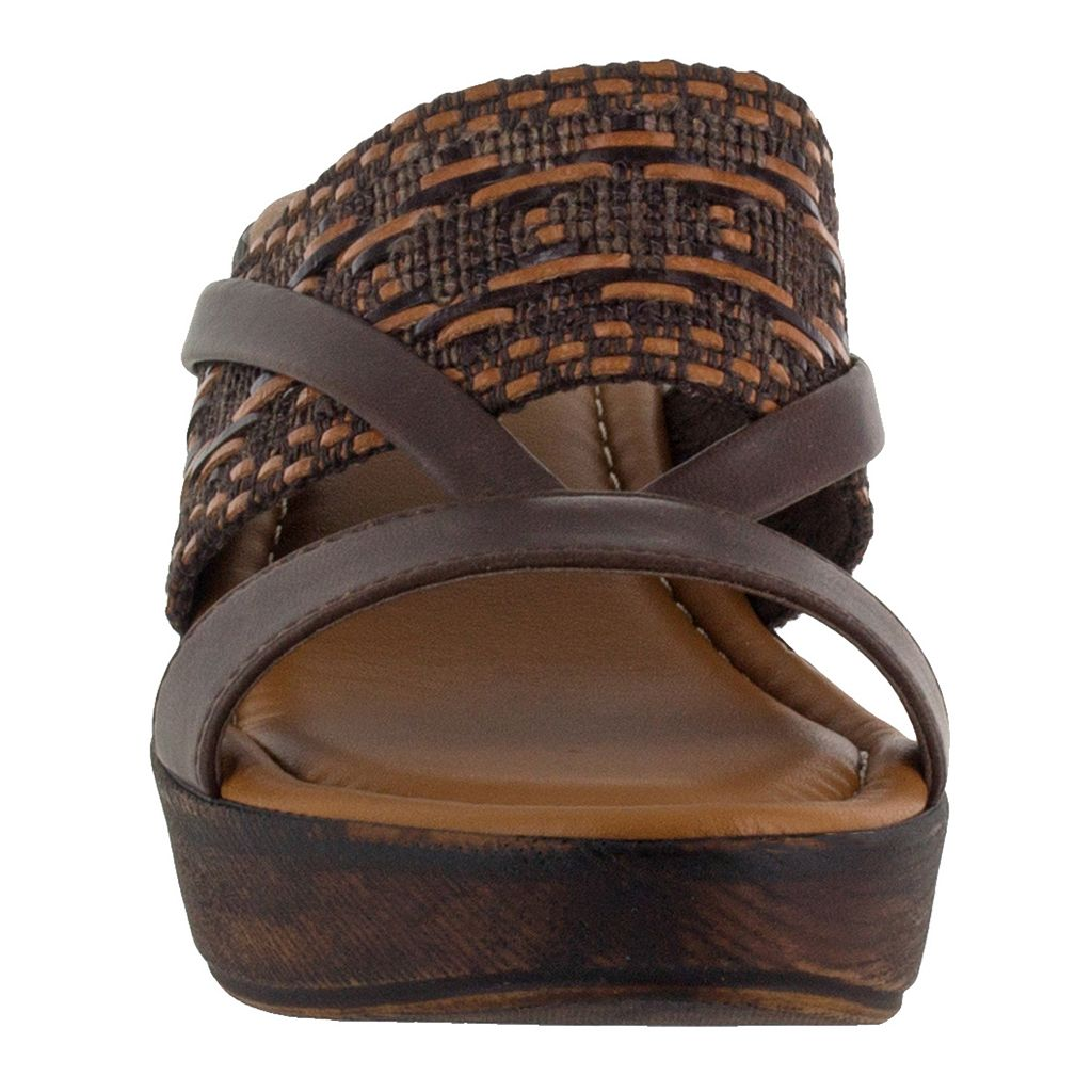 Tuscany by Easy Street Rachele Women's Wedge Sandals