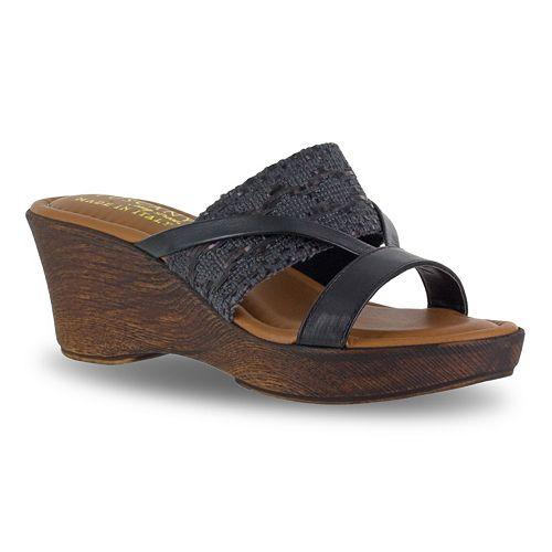 Tuscany by Easy Street Rachele Women's Wedge Sandals