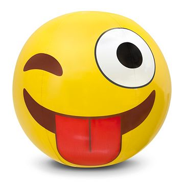 Big Mouth Inc. 20-inch Giant Emoji Beach Ball
