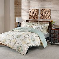 INK+IVY 3-piece Nia Duvet Cover Set