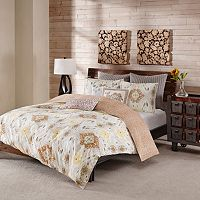 INK+IVY 3 pc Nia Duvet Cover Set