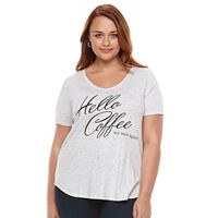 Plus Size Apt. 9® V-Neck Graphic Tee