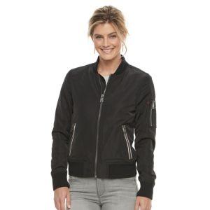 Women's Levi's Zip-Front Bomber Jacket