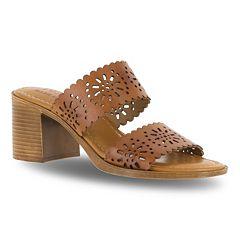 Tuscany by Easy Street Susana Women's Block Heel Sandals