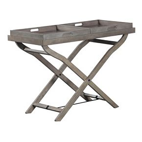 Jenette Tray Top Foldable Accent Table