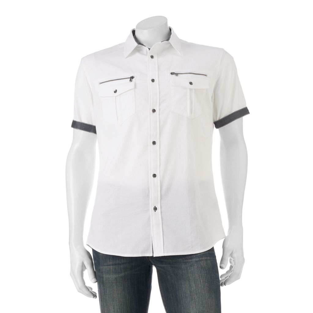 Big & Tall Rock & Republic Classic-Fit Stretch Button-Down Shirt