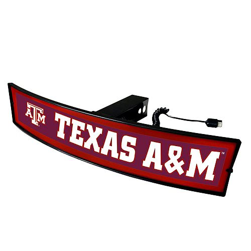 FANMATS Texas A&M Aggies Light Up Trailer Hitch Cover
