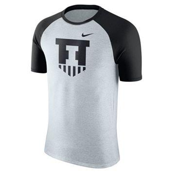 Men's Nike Illinois Fighting Illini Raglan Tee