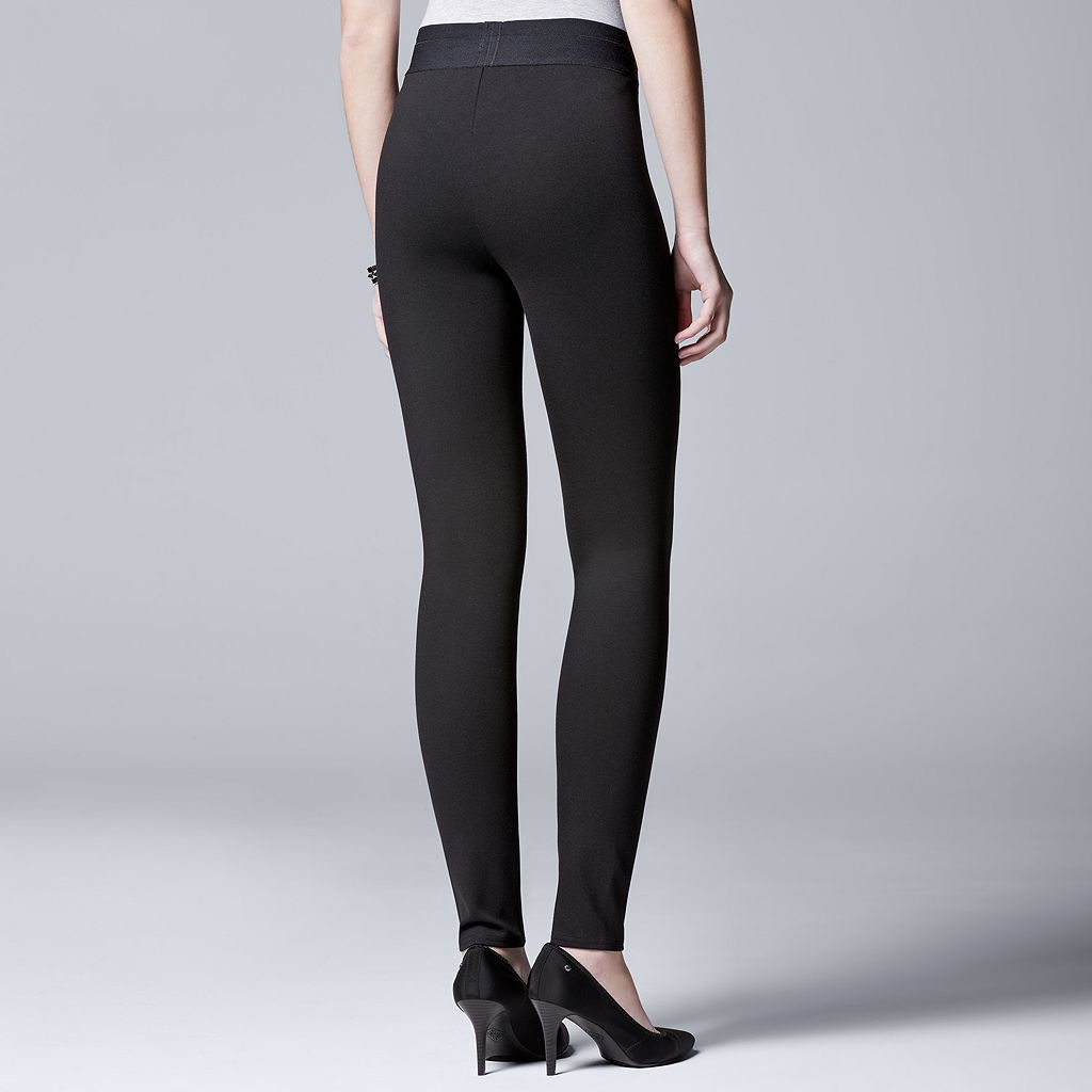 Women's Simply Vera Vera Wang Simply Separates Pull-On Skinny Pants