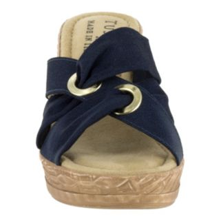 Tuscany by Easy Street Solaro Women's Wedge Sandals