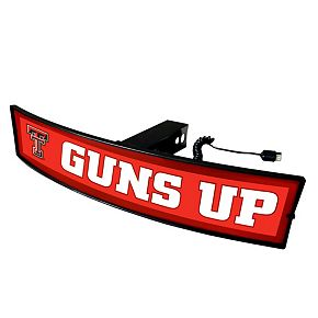 FANMATS Texas Tech Red Raiders Light Up Trailer Hitch Cover