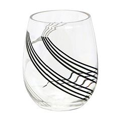 Corelle Urban Arc 4-pc. Acrylic Stemless Wine Glass Set
