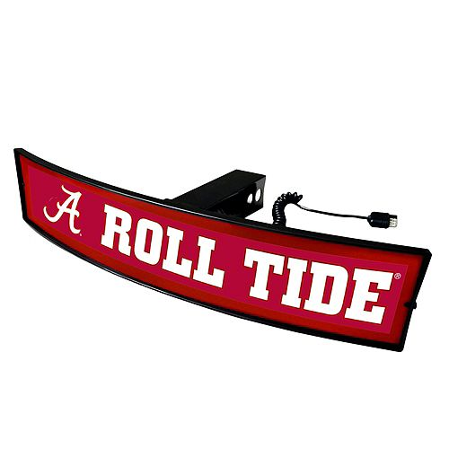 FANMATS Alabama Crimson Tide Light Up Trailer Hitch Cover