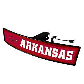 FANMATS Arkansas Razorbacks Light Up Trailer Hitch Cover