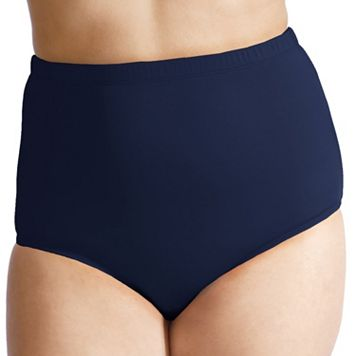 Plus Size Mazu Swim Ultra High-Waisted Brief Bottoms