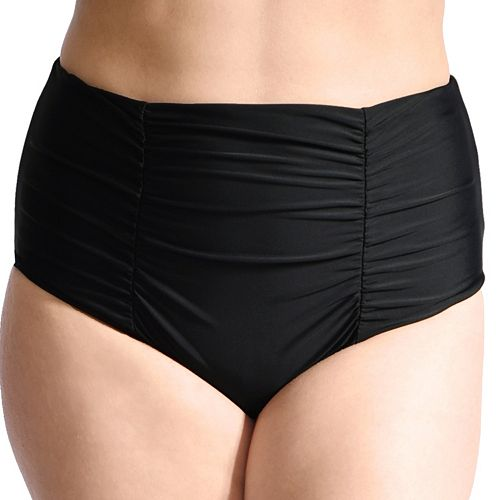 d1be7fbb7bb Plus Size Mazu Swim Tummy Slimmer Ultra High-Waisted Ruched ...