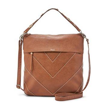 Relic Sophie Convertible Chevron Crossbody Bag