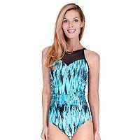 Women's Mazu Swim Cascade Tummy Slimmer High-Neck One-Piece Swimsuit