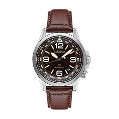 Seiko Men's Prospex Leather Automatic Watch - SRPA95