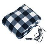 Stalwart 12V Plaid Electric Blanket