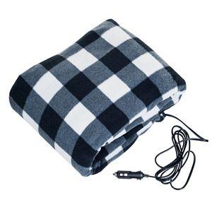Stalwart 12V Plaid Electric Blanket!