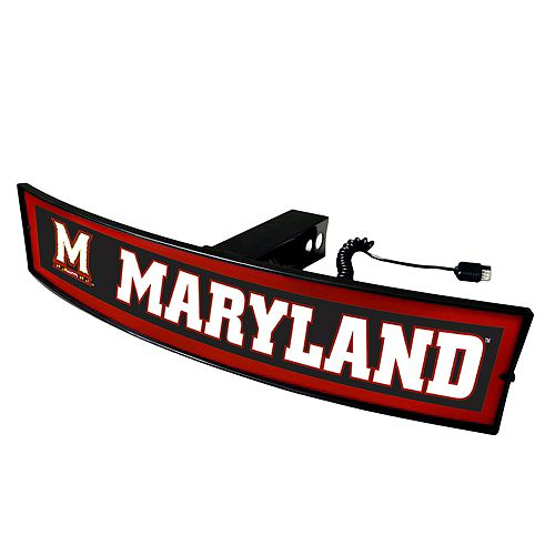 FANMATS Maryland Terrapins Light Up Trailer Hitch Cover