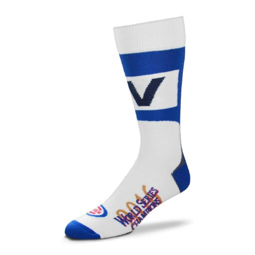Adult For Bare Feet Chicago Cubs Fly the Flag Mid-Length Socks